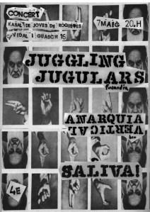 Juggling Jugulars-BCN